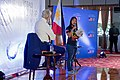 Secretary Kerry Listens to Anna Oposa, Executive Director of Save the Philippines Seas, During Her Opening Remarks (28296044700).jpg