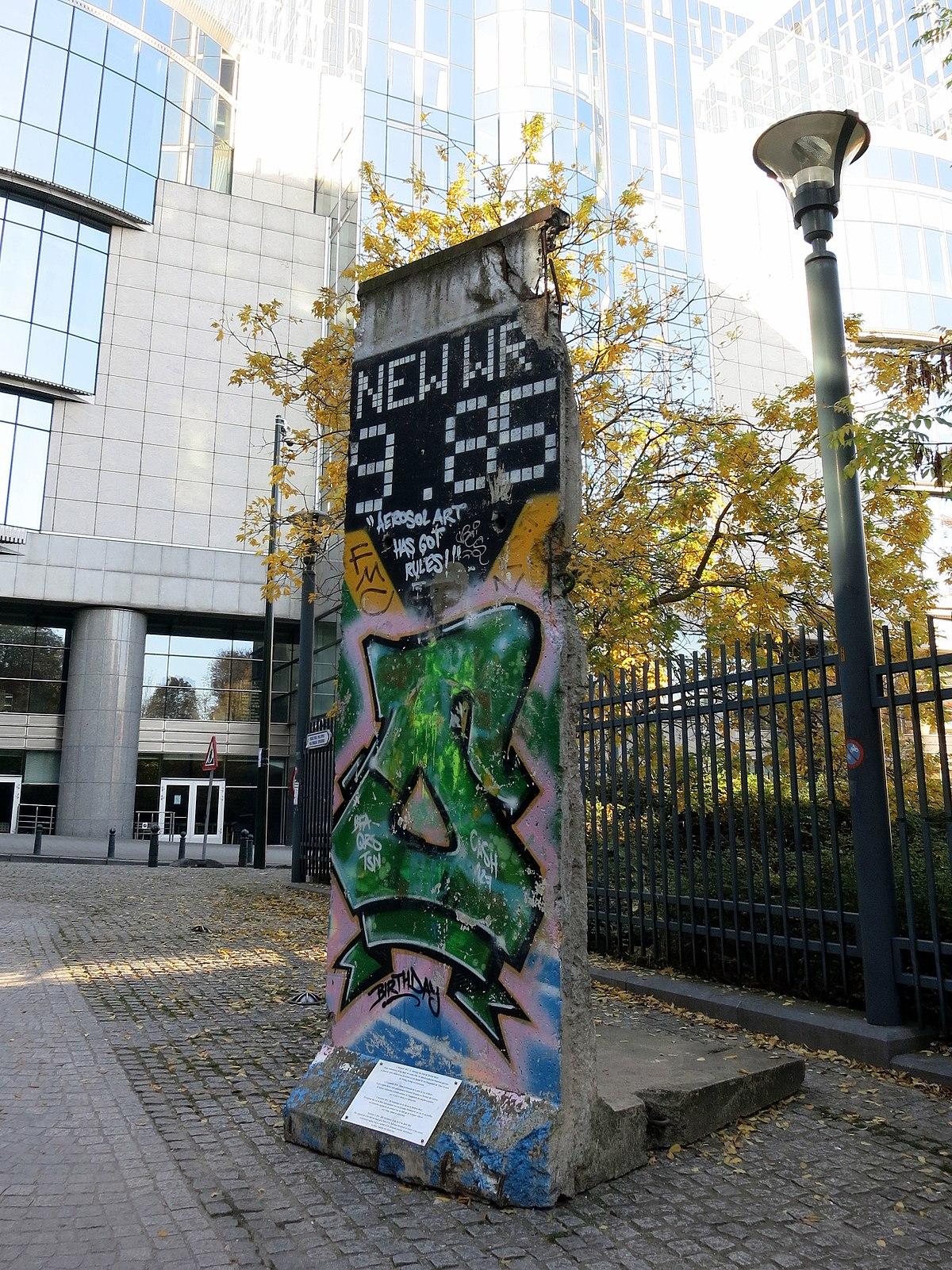 List of berlin wall segments wikipedia for Europe in november
