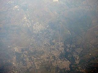 Sehore City in Madhya Pradesh, India