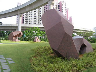Sengkang Sculpture Park - Waves