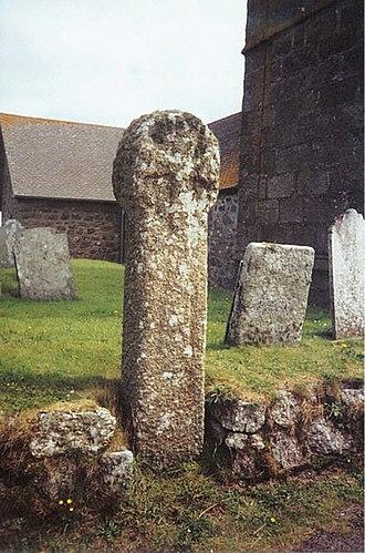 Sennen - A Cornish cross in the cemetery