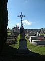 Seraincourt (Val-d'Oise) croix cimetière.JPG
