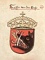 Serbian Emperor's coat of arms, Chronicle of the Council of Constance.jpg