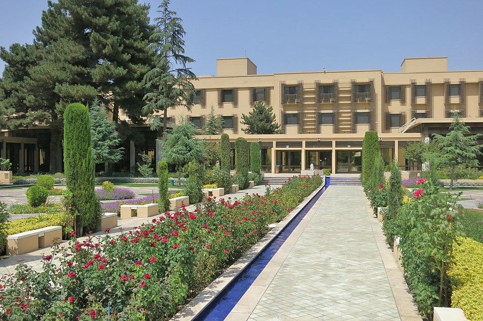 Serena Hotel in Kabul-2013