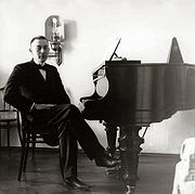 Rachmaninoff at the piano, 1910s