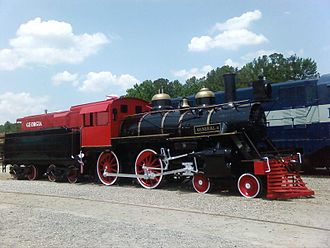 Stone Mountain Scenic Railroad - The General II, currently at the Southeastern Railway Museum, Duluth, GA.