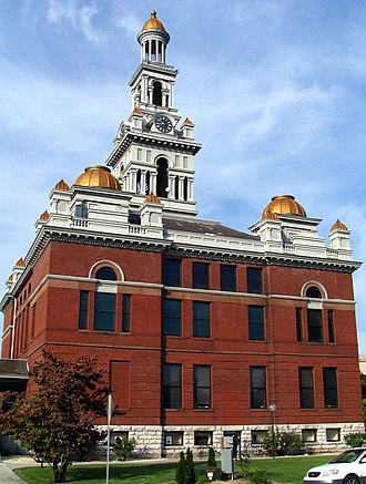 Sevier County, Tennessee - Image: Sevier County Courthouse