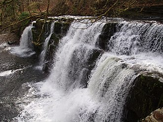 Waterfall Country (Wales) - Sgwd y Pannwr