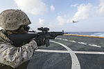 Sharpened Steel, 15th MEU Marines practice shooting 151031-M-GC438-074.jpg