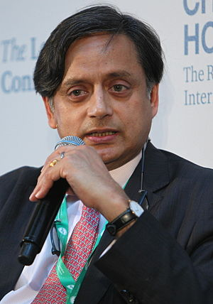 Shashi Tharoor - Shashi Tharoor at the London Conference, June 2015
