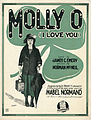 Sheet music cover - MOLLY-O - I LOVE YOU (1921).jpg