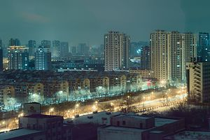 Tiexi District, Shenyang - Image: Shenyang Skyline Tiexi