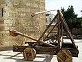 Shirvanshahs Palace - catapult Baku.jpg