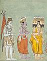 Shiva, Vishnu, and Brahma Adoring Kali LACMA M.80.101 (2 of 7).jpg