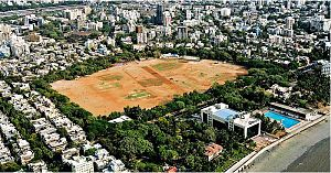 Dadar - Shivaji Park, aerial view