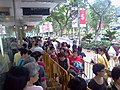 Shopping queue outside OG at Orchard Point.jpg