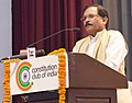 Shripad Yesso Naik addressing at the inauguration of a seminar on Prevention & Control of Diabetes through Ayurveda and launch of Mission Madhumeha through Ayurveda, on the occasion of the National Ayurveda Day, in New Delhi.jpg
