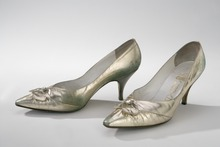A pair of 20th century court shoes