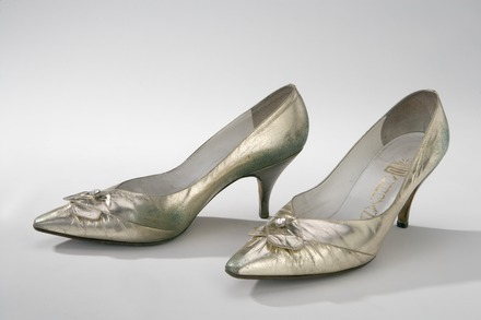 a538c2fea46 A pair of 20th century court shoes for women.