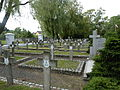 Siedlce Cmentarz wojenny Południe 2012 micbor.JPG