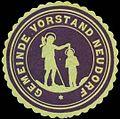 Siegelmarke Gemeinde Vorstand Neudorf W0319786.jpg
