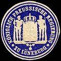 Siegelmarke Königlich Preussische Regierung zu Lüneburg W0245666.jpg