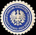 Siegelmarke Königlicher Landrat des Kreises Oberbarnim Freienwalde - Oder W0212787.jpg