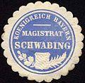 Siegelmarke Koenigreich Bayern - Magistrat Schwabing W0235226.jpg