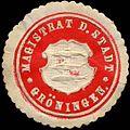 Siegelmarke Magistrat der Stadt Gröningen W0311568.jpg