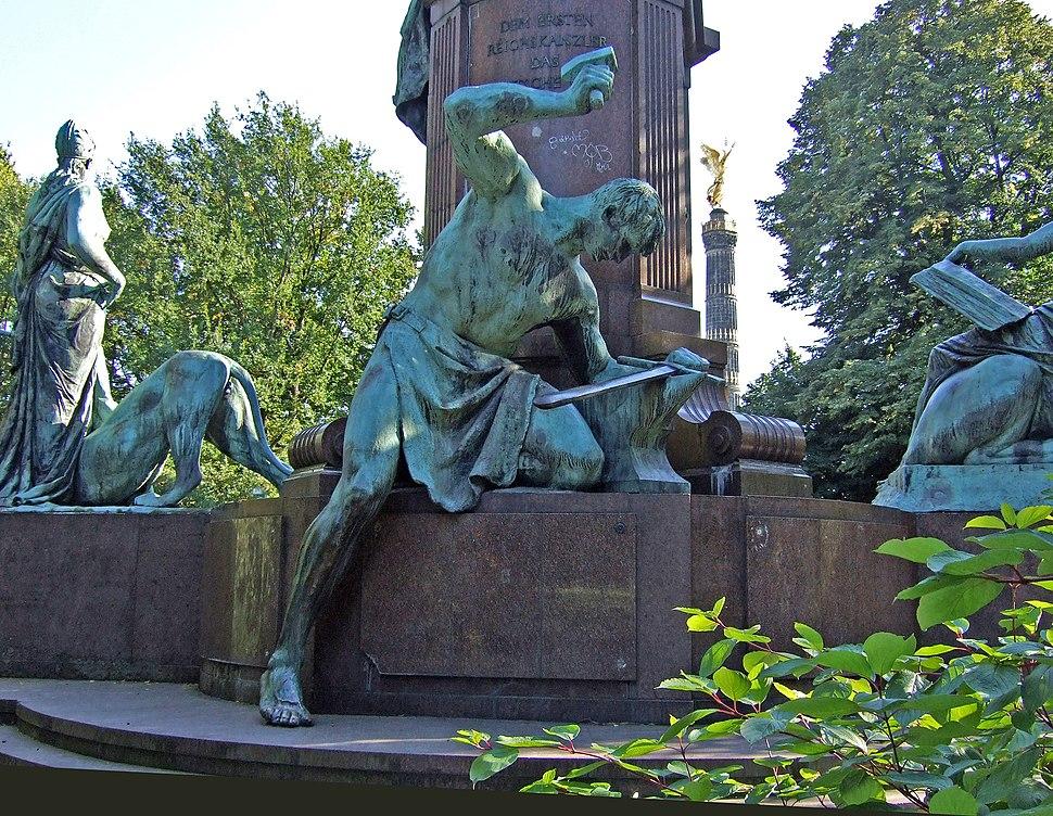 Siegfried, das Reichsschwert schmiedend 1