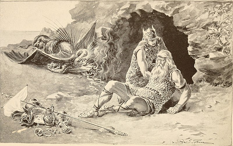 File:Siegfried, the hero of the North, and Beowulf, the hero of the Anglo-Saxons (1909) (14566833957).jpg