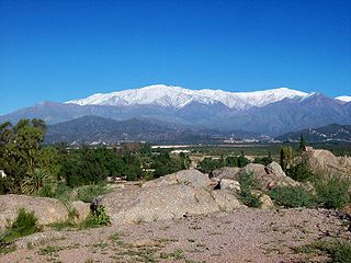 Sierras Pampeanas mountain range