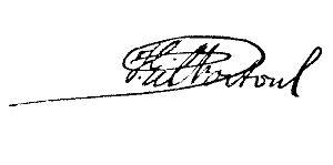 José Gil Fortoul - Image: Signature of José Gil Fortoul