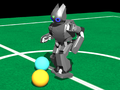 Simulation of a Robotis DARwIn-OP in Webots.png