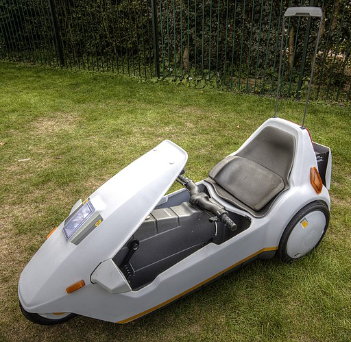 Sinclair C5 with high vis mast