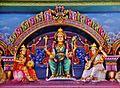 Singapore Tempel Sri Mariammam Innen Decke 4.jpg