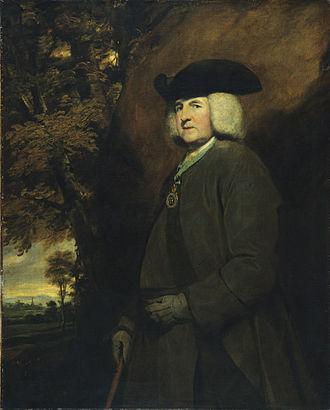 Richard Robinson, 1st Baron Rokeby - Portrait de Richard Robinson, archevêque d'Armagh, futur baron de Rokeby et primat d'Irlande, by Sir Joshua Reynolds, PRA, in the Musée des Beaux-Arts-mairie de Bordeaux.