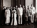 Sir T. Southorn and Lady Southorn with a group, Hong Kong. Wellcome V0027518.jpg