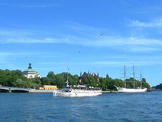 Olof Tempelman - Skeppisholmen, Stockholm