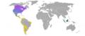 Skunk genera ranges.png