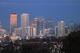 Nagoya - Skyline of Nagoya City