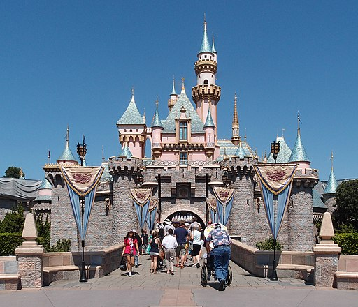 disneyland California go city Los Angeles