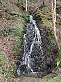 Small waterfall beside the Mawddach Trail - geograph.org.uk - 1100256.jpg