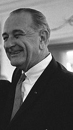 Photo of Texas State Alum, Lyndon B. Johnson