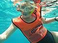 Snorkeling at week 28.jpg