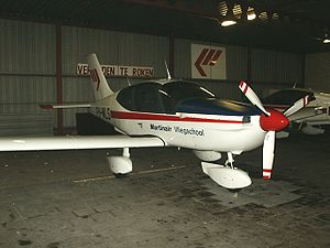 Socata TB-10 Tobago GT owned by Martinair Vliegschool.jpg