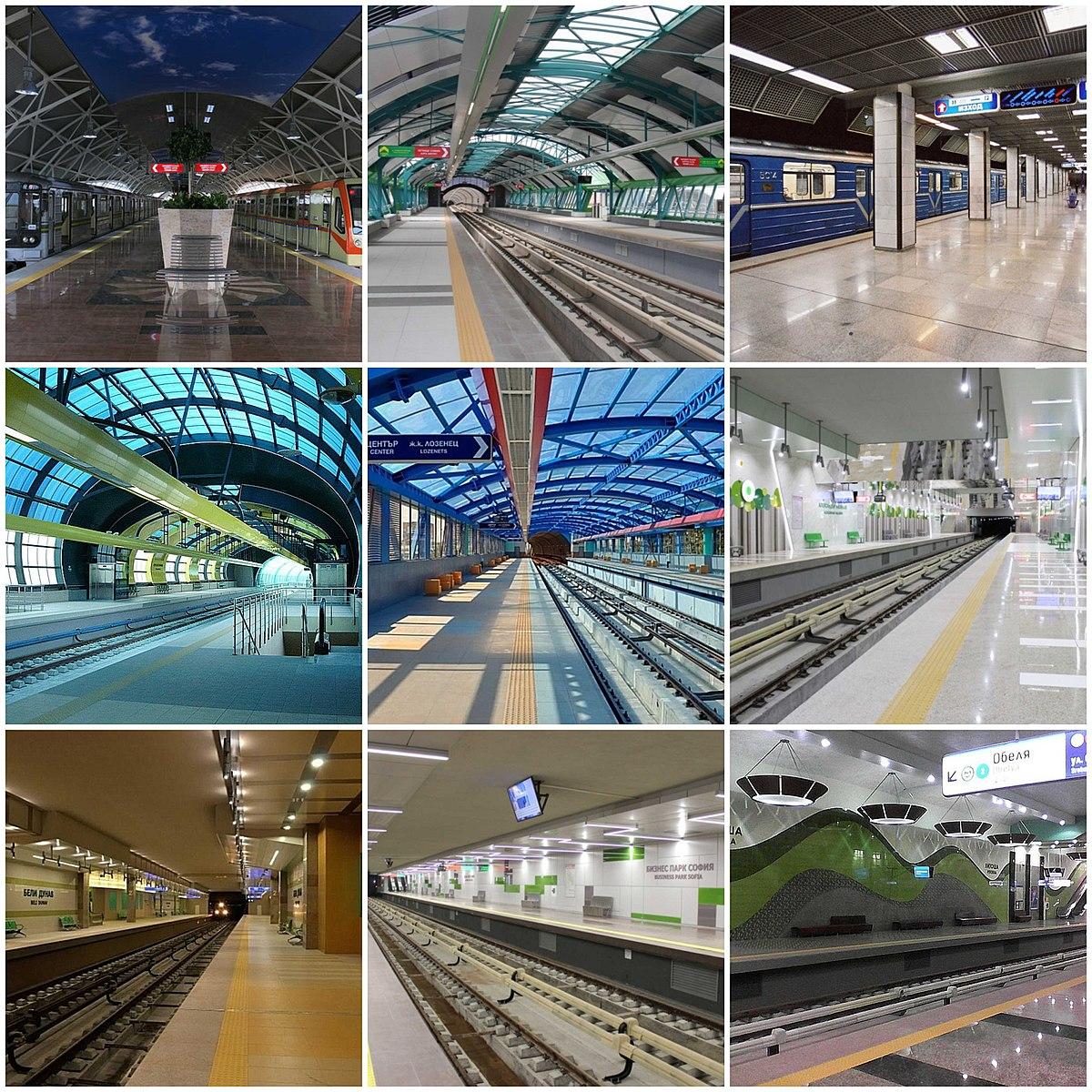 Sofia Metro - Wikipedia