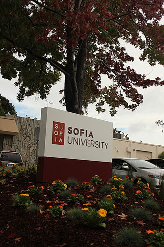 Sofia University (California) - Image: Sofiausign