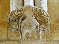 Soissons (02), abbaye Saint-Jean-des-Vignes, réfectoire, cul-de-lampe à l'intersection des deux vaisseaux, côté nord.jpg