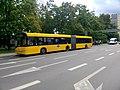 Solaris Urbino 18 in Gliwice at Wrocławska stop (2).jpg